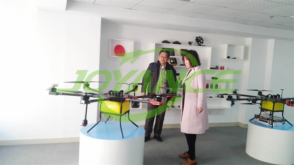 Singapore fumigation drone customer visits Joyancetech