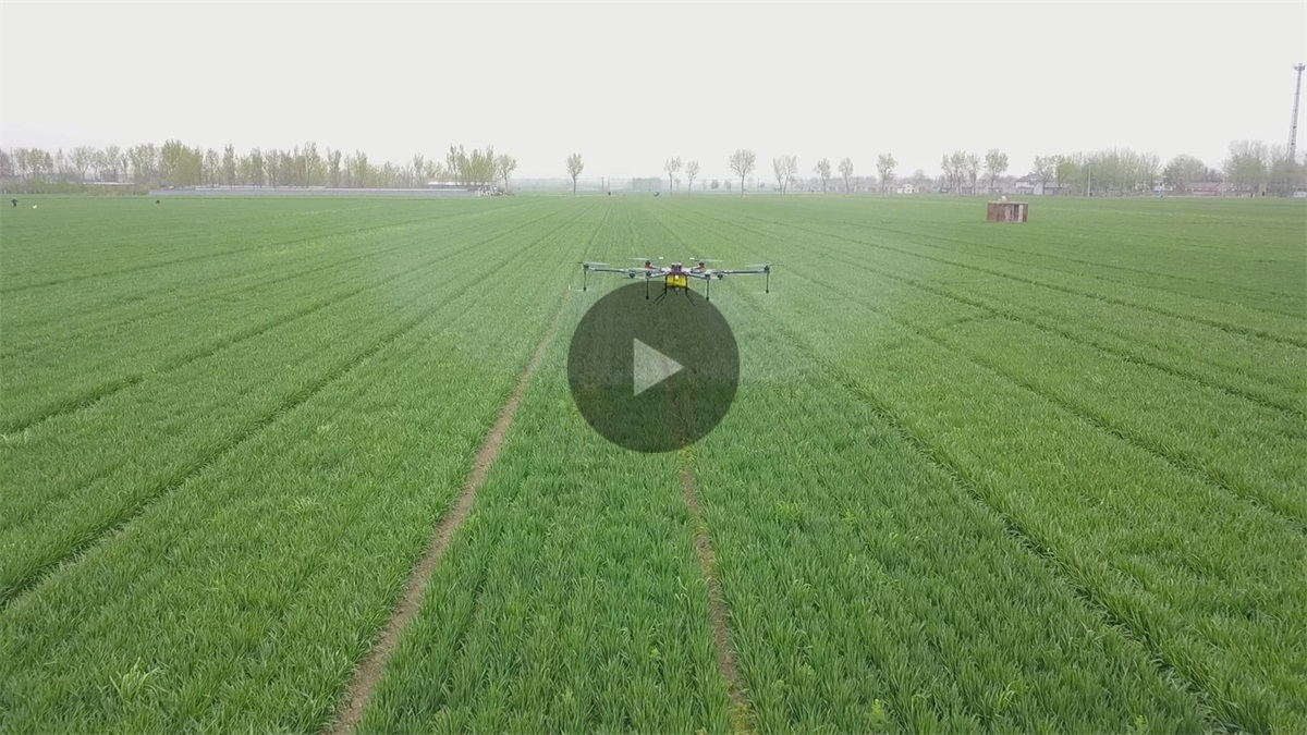 Joyance 15L sprayer drone from above