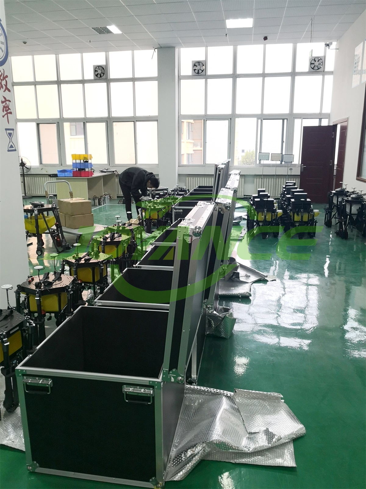 Joyance sprayer drone are ready for shipment to frequent customer